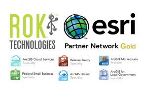 ROK is Esri Gold Partner and has 6 specialty designations including ArcGIS Cloud Services